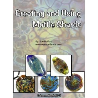 creating and using lampwork mottle shards