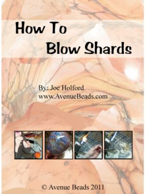how to blow lampwork glass shards