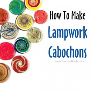 how to make lampwork cabochons